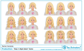 snip n style hair salon two animators animation studio s new hairstyles 4149
