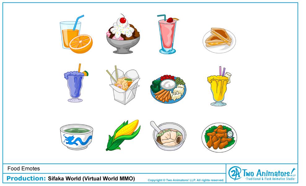 Two animators animation studio blog sifaka world food emotes sifaka world food emotes freerunsca Images