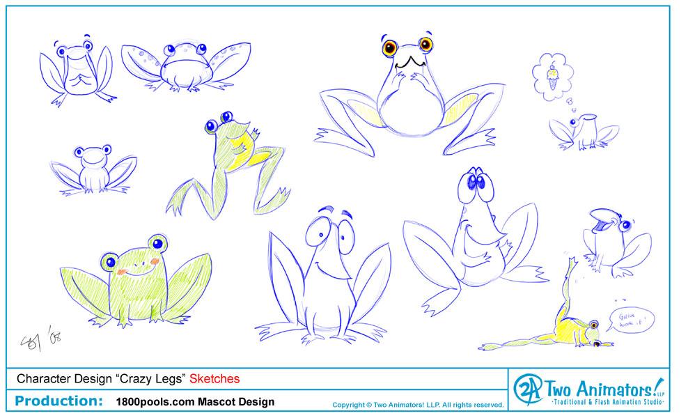 Character Design Nyc : Two animators animation studio june