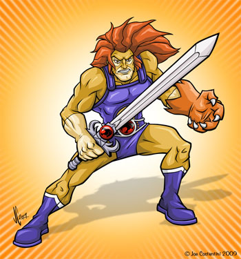 Lion Thundercats on 2a  Blog  Fun Art Fridays  The Thundercats  Lion O