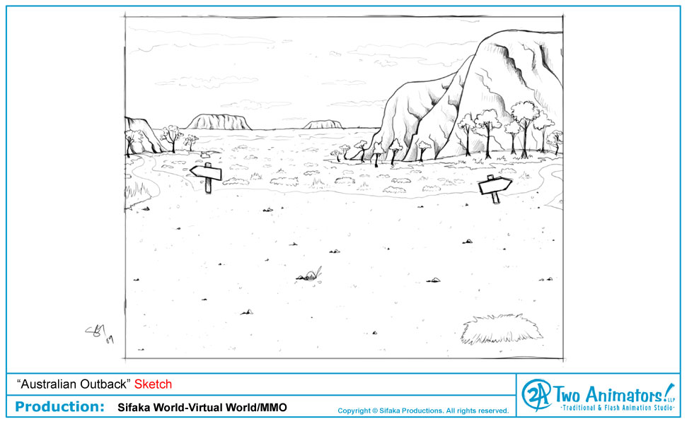 Australian Outback Coloring Pages | Coloring Pages