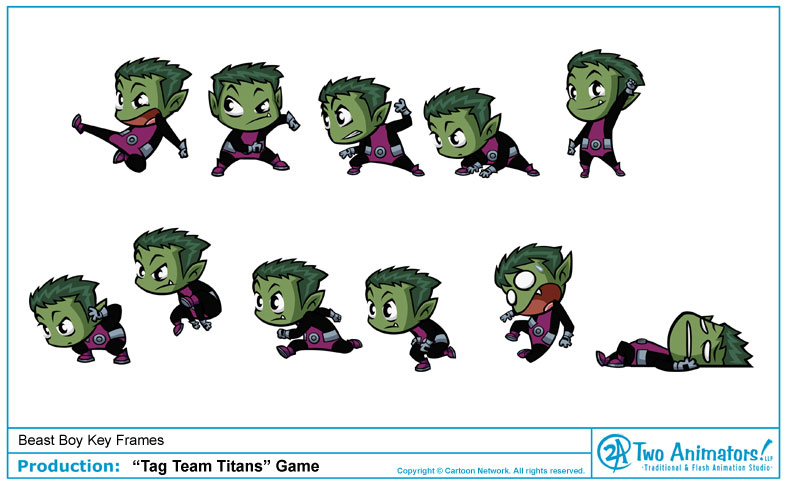 Animation Studio Blog Cartoon Network Game Tag Team Titans