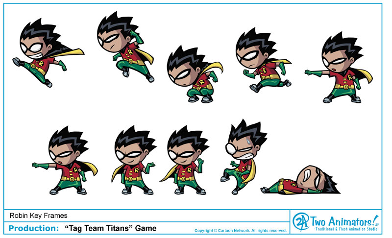 Two Animators Animation Studio Blog Cartoon Network Game Tag Team Titans